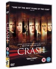 Crash DVD Sandra Bullock Brendan Fraser New and Sealed Original UK Release R2