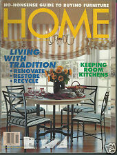 Home Magazine November 1994 Living With Tradition Guide To Buying Furniture