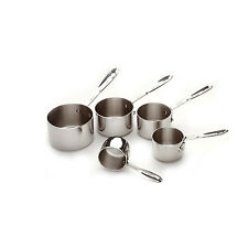 All-Clad 59917 Stainless Steel Measuring Cups 5 Piece Set