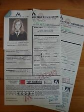 Harry Potter - Personalised Muggle Born Registration Form - Reproduction/Copy
