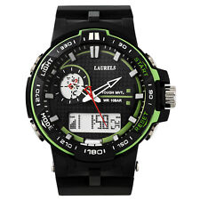 Laurels Digi Analog-Digital Dial Men's Watch - Lo-Digi-105