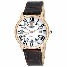 Steinhausen Men's S0721 Classic Swiss Quartz Stainless Steel Watch