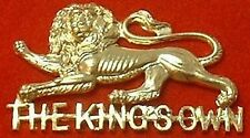 THE KINGS OWN BORDERS CAP BADGE BERET BADGE KOB HAT BADGE