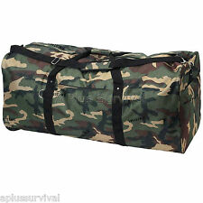 """Camouflage 39"""" Polyester Duffel Bag"""