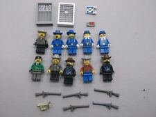 LEGO FORT LEGORADO MINIFIG LOT of 10 MINIFIGS WESTERN CAVALRY BANDITS S77
