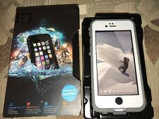 Lifeproof FRE Waterproof Case for iPhone 6s ~ Dark Gray/White NEW In Box