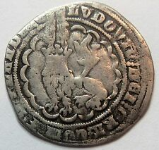 - FLANDRES - Louis II de Male - Gros - 1346-1384 -