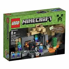 LEGO Minecraft 21119 the Dungeon Building Kit New