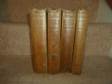 RARE Volumes 1-2-3-4 ~ The Life of Samuel Johnson By James Boswell Dated 1884