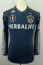 Authentic Adidas Formotion MLS 2011-2012 Los Angeles Galaxy Soccer Jersey Size S