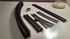 Hornby Train set oval of track and siding