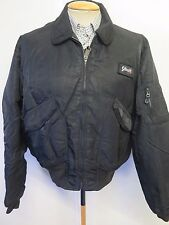 Genuine Schott NYC Hollofil CWU-R Flight Bomber Jacket L 42-44 Euro 52-54 Black