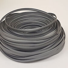 SINGLE LIP T TRIM DARK GREY EDGING FOR 15MM FURNITURE BOARD CARAVAN/CAMPER/BOAT