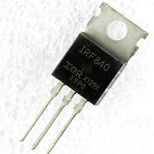 5PCS IRF840N IRF840 N-channel 8A 500V MOSFET TO-220 IR Transistor NEW