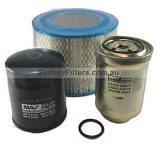 TOYOTA HILUX SURF 2.4L TURBO DIESEL AIR OIL FUEL FILTER KIT Z334, Z252, A339 MAX