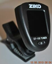 New LCD Clip-on Electronic Digital Guitar Bass  Chromatic Tuner  Ziko DT-100