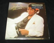 "NEW MICHAEL JACKSON-FACTORY SEALED-THRILLER ALBUM-1982- 1ST RELEASE ""NR-MINT"""