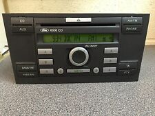 Ford 6000 Cd car radio stereo CD player Mondeo Only  +Code Kw2000