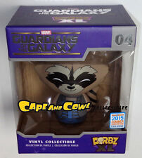 SDCC 2015 Exclusive Marvel Funko Dorbz XL Guardians of the Galaxy ROCKET Vinyl