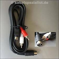 Commodore c64/c128 cable a LCD/LED plasma tv S-video mini din 4pol 2 metros