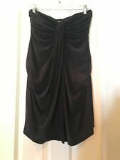 NWT The Jetset Diaries Serenity Mini Dress Black Strapless Size S