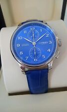 CHRISTOPHER WARD C9 HARRISON CHRONO LT ED SWISS ETA 7750 BLUE DIAL- 99.99% LNIB