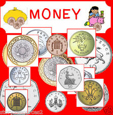 MONEY MATHS   CD Primary teaching resources teacher resource ks1 NUMERACY cd