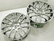 GIOVANNA KILIS 22 x 9.0 / 10.5 CHROME RIMS WHEELS MASERATI QUATTROPORTE +38