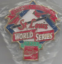 St. Louis Cardinals vs. Athletics 1931 World Series Pin by Peter David NIB