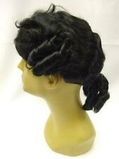 Black Court Wig ~ Mens ~ 18th Century ~ Colonial ~Panto ~ Budget