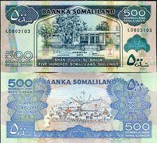 SOMALILAND - 500 shiling 2011 FDS - UNC