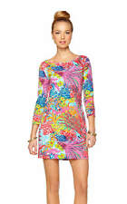 Lilly Pulitzer Marlowe Boatneck T-Shirt Dress in Fishing for Compliments  Small
