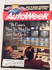 Autoweek Magazine Nascars Tests Waters At Indy July 6, 1992 011617rh