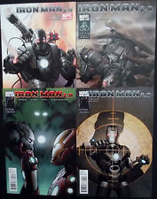 IRON MAN 2.0 #1,2,3,4...NM-...2011...Ariel Olivetti,Barry Kitson...Bargain!