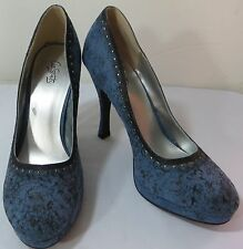 """""""CITY STREETS"""" BLUE PUMPS SHOES SIZE 8.5 - PLEASE SEE ALL PICTURES"""