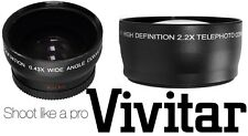PRO HD WIDE ANGLE & TELEPHOTO LENS for SONY SLT-A35K SLT-A35