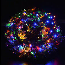 EU Plug Outdoor 10M 100LED String Light Christmas Wedding Party Fairy Light UKDR