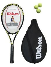 Wilson Tour Slam Tennis Racket + Cover + 3 Balls RRP £60 G