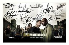 THE WALKING DEAD SEASON 6 CAST AUTOGRAPHED SIGNED A4 PP POSTER PHOTO