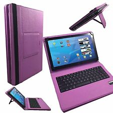 "10.1"" Bluetooth Keyboard Case For Sony Xperia Z4 Tablet-PC LTE 4G - Pink"