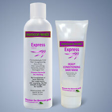 Moroccan Keratin Express Smoothing Straightening Treatment Formaldehyde Free 250