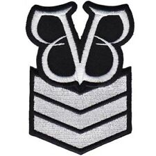 Black Veil Brides Stripes Sew Iron On Official Patch New