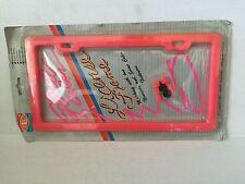 License Plate Frame - Pink