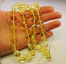 Genuine Baltic Amber 45 Round 10,5 mm Balls Islam Prayer Beads Misbaha Subha