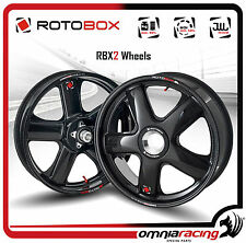 Rotobox Carbon fiber Couple of Wheels for Ducati 1098