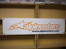 Alpinestars motocycle clothing pvc banner for Retail Shop, WorkShop etc