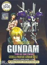 DVD Mobile Suit Gundam: The 08th MS Team Episode 1 - 12 End anime ENGLISH Dubbed