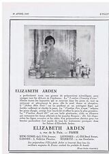 PUBLICITE ADVERTISING 044 1928 ELIZABETH ARDEN Venetian Cleasing Cream  creme
