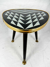 Schöner 50´s Mid Century Design  Beistell Tisch  beautiful side table  34 cm