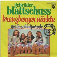 Gebrüder Blattschuss - Kreuzberger Nächte (Vinyl-Single 1978) !!!